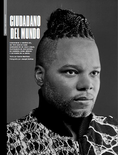 Coréon Dú @ Maxim Mexico Magazine