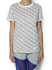 T-Shirt Wedú Print Logo Rosa