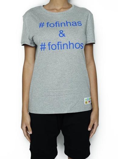 T-shirt #Fofinhos e #Fofinhas
