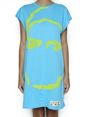 T-Shirt Oversize Turquesa