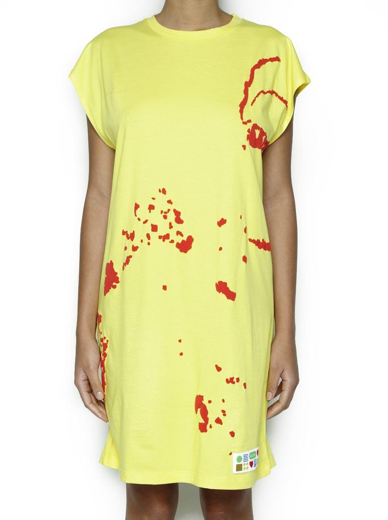 T-Shirt Oversize Amarela