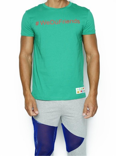 T-Shirt #WedúTogether Verde