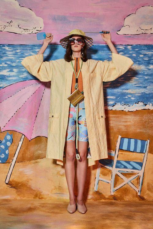 "WeDú  x @ PothosUnderwear kimono in  ""Fake Summer"""